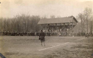 Baseball game at St. Olaf College, 1909
