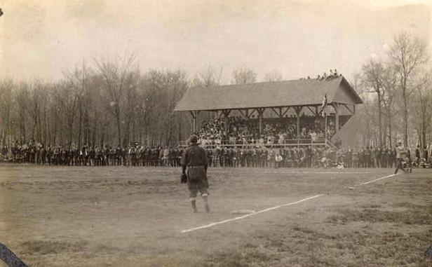 Baseball game at St. Olaf College, 1909