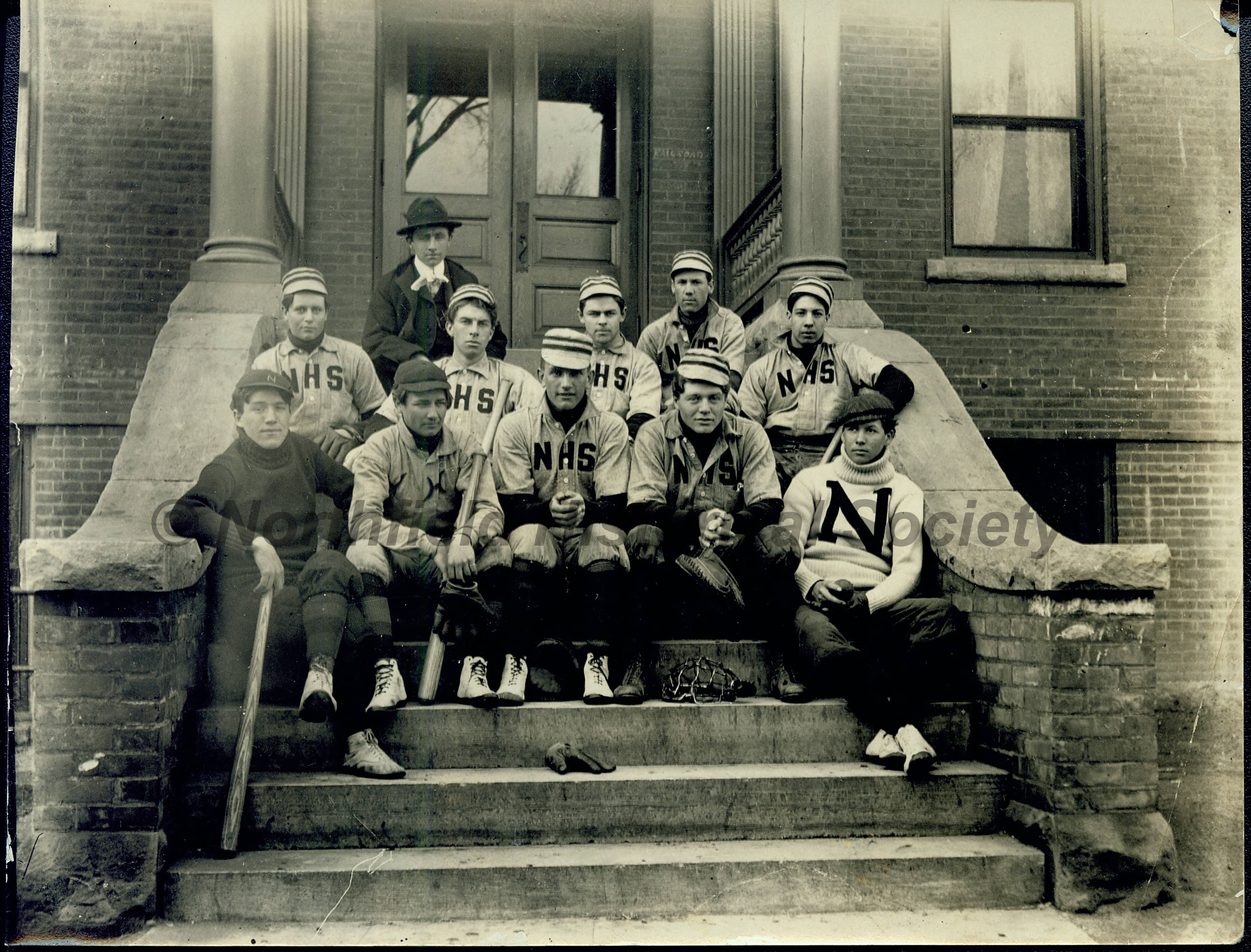 Northfield High School baseball team, 1902