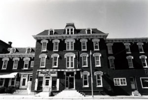 The Hotel Stuart in 1977.