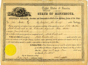document_promoting_john_norton_to_first_lieutenant_in_the_civil_war