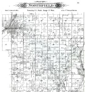 County Minnesota Map.1900 Rice County Plat Maps Northfield History Collaborative
