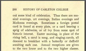 Page 288 of The History of Carleton College