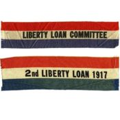 Liberty Loan Committee ribbons, 1917-1918