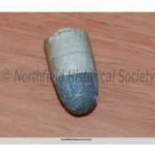 Bullet from the belt of William Chadwell or Clell Miller