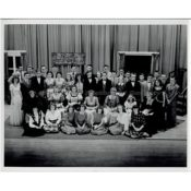 "Cast of ""Jane Eyre"" at Northfield High School, c. 1949"