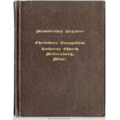 Christdala Swedish Church membership book