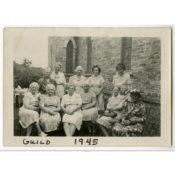 Women of Holy Cross Church, 1945