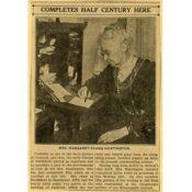 Margaret Evans Huntington article