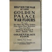 Golden Palace Flour advertisement