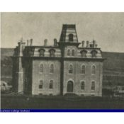 First Willis Hall (built 1872, destroyed by fire), Carleton College
