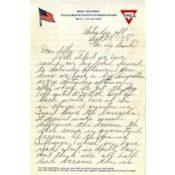 Letter from Fredrick Heiberg to his family, September 28, 1918