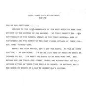 Defeat of Jesse James Days reenactment script, 1993