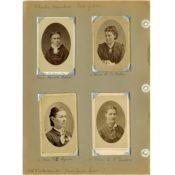 Charter Members of St. John's Lutheran Church Ladies Aid