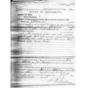 Warrant for the arrest of the Younger Brothers