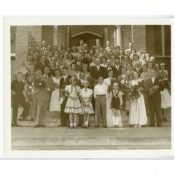 Displaced Persons at St. John's Lutheran Church