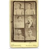 Killed or captured members of the James-Younger Gang