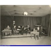Radio Broadcast Studio at Carleton's Music Hall, 1920s