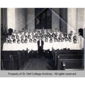 St. Olaf Choir at St. John's Lutheran Church, 1922