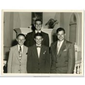 Confirmation Class of 1952 at Christdala Lutheran Church