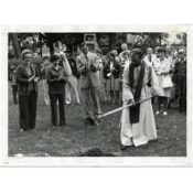 Groundbreaking for Extension at St. John's Lutheran Church, 1976