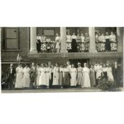 Members of the St. Olaf College Home Nursing, Red Cross, and First Aid programs, 1918