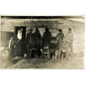 Lunchtime for a Threshing Crew, c. 1912