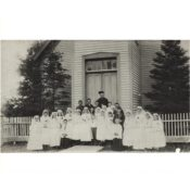 First Communion Class at Church of Annunciation, c. 1890