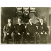 Four Pastors of St. John's Lutheran Church, 1919