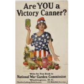 "Poster, ""Are YOU a Victory Canner?,"" 1918"