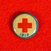 Red Cross lapel pin, 1919