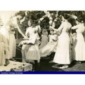Coronation of Carleton College May Queen, 1912