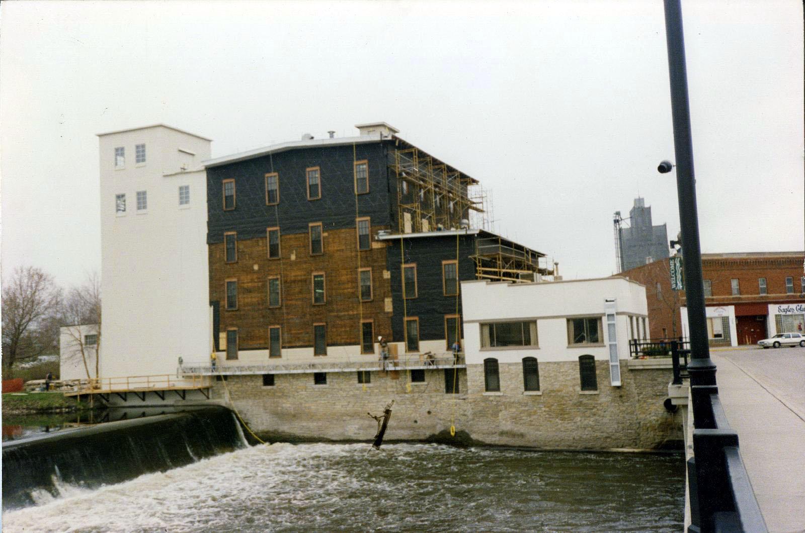 Ames Mill renovation