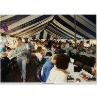 Malt-O-Meal's 75th Anniversary breakfast on Bridge Square