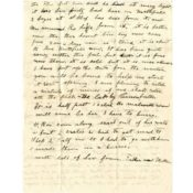 Letter from George Mason to his son Homer Mason, November 27, 1918