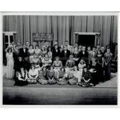 "Cast of ""Jane Eyre"" at Northfield High School, c. 1949"