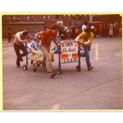 KYMN Bed Racing, c. 1980