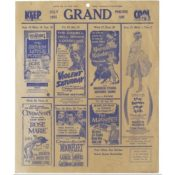 Grand Movie Advertisements, 1955