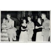 Three Couples at a U.S.O. Dance, 1943-44