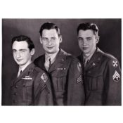 Northfield servicemen Bob, John, and Paul McGuire
