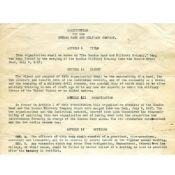 Dundas Band Constitution, 1918