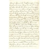 Letter to Arthur Persons from his mother Phebe A. Persons, September 29, 1918