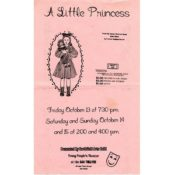 """Poster for """"A Little Princess,"""" 1989"""