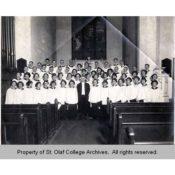 St. Olaf Choir at St. John's Lutheran Church, 1922