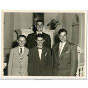 Confirmation Class of 1952 at Christdala Lutheran Church