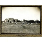 I.O.O.F. Children's Home with Grazing Cow Herd, c. 1900
