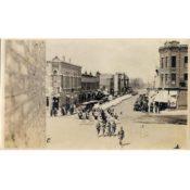 Parade in Bridge Square, c. 1918