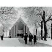Boe Memorial Chapel at St. Olaf College, c. 1950