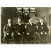 Four Pastors of St. John's Lutheran Church, 1919