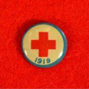 Red Cross lapel pin, 1919